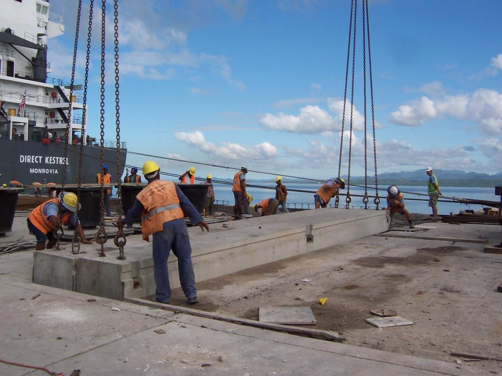 King's Wharf Rehabilitation for Client Maritime & Ports Authority of Fiji (Asian Development Bank Funded) conducted by Erasito Consultants Limited and Beca International Consultants